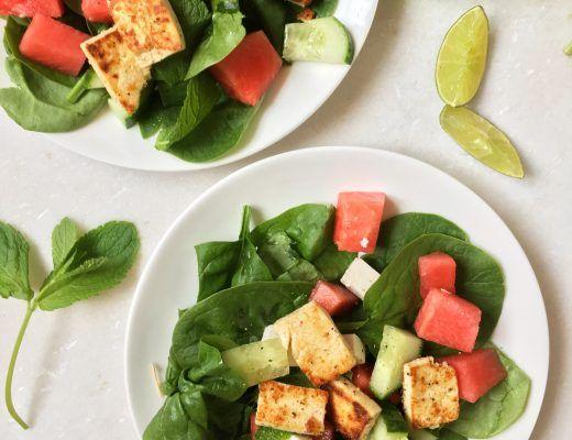 Zomerse salade