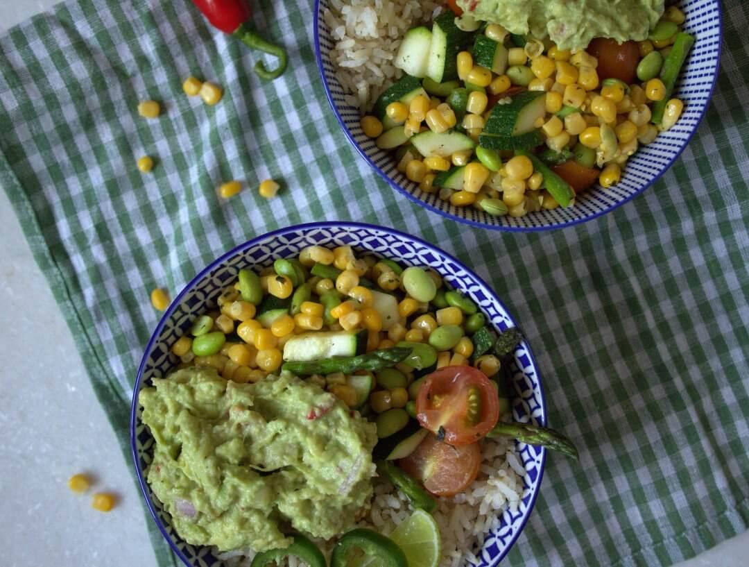Mexicaanse burrito bowl